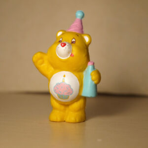 "1983 Care Bears ""Birthday Bear"" miniature figure"