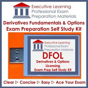 DFC DFOL Derivatives Fundaments Exam Textbook 2018 Kit