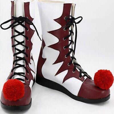 joker Pennywise Cosplay IT Horror Clown Killer carnival shoes Halloween costume