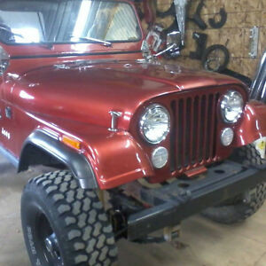 superbe pieces jeep cj-7