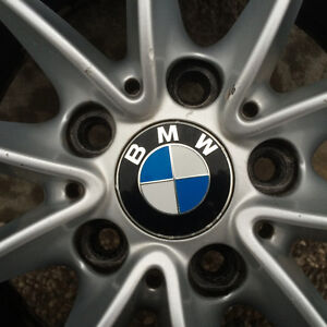 BMW OEM Rims with summer tires