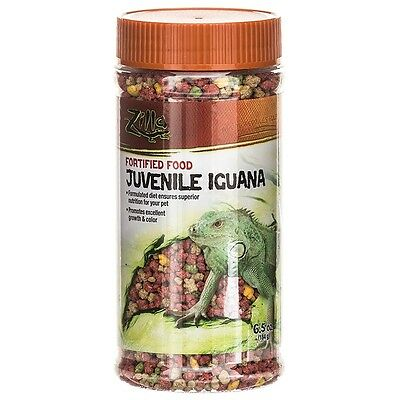 Zilla Fortified Food for Juvenile Iguanas 6.5 oz (Free Shipping in USA)