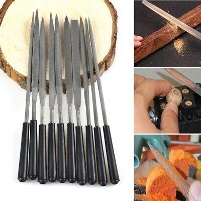 Mini Files Set Metal Filing Rasp Needle File Steel Tools Hand -