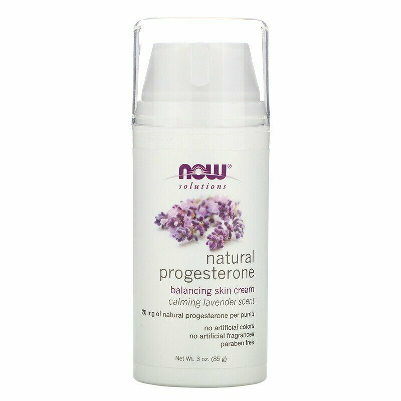 Now Foods, Solutions, Natural Progesterone, Skin Cream, Calm
