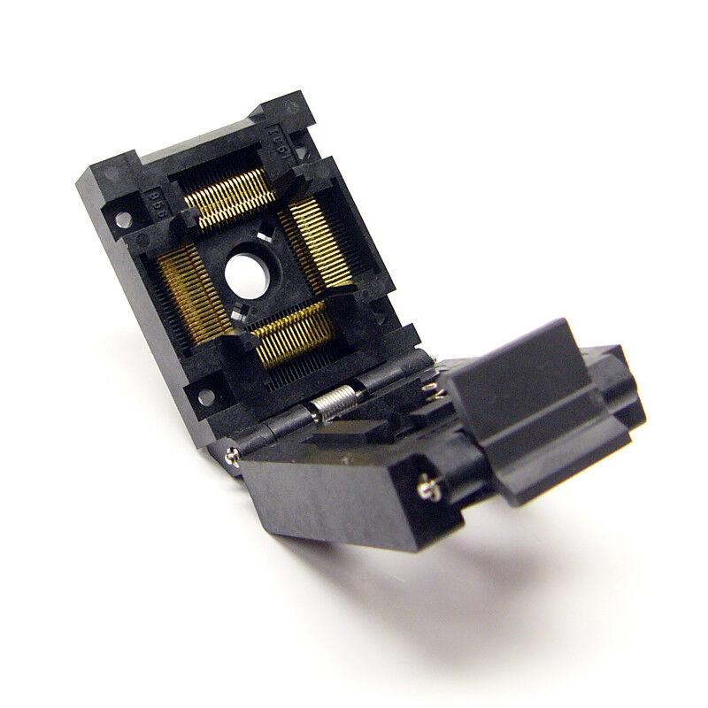NEW Yamaichi IC51-0804-956 Clamshell QFP Test Socket