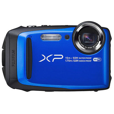 Fujifilm FinePix XP90 Shock & Waterproof HD Wi-Fi Digital Camera Blue