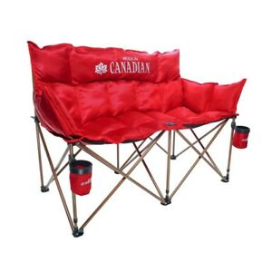 Molson Canadian 2-Person Folding chair