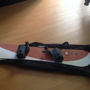 Mercury by Liquid Snowboard and Firefly Snowboard Bag for Sale