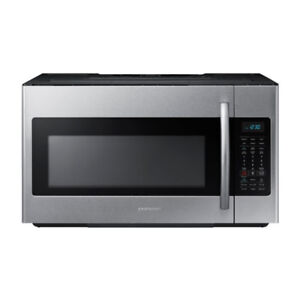 BNIB Samsung ME18H704SFS/AC 1.8 cu ft Over-The-Range Microwave