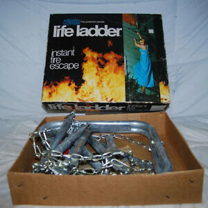 Instant Fire Excape (Fire Ladder) NEW  2-Story  15 feet Fire Esc