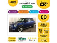 MINI COOPER 1.2 1.4 2.0 S D SEVEN ONE COUPE CHILLI PACK FROM £20 PER WEEK!