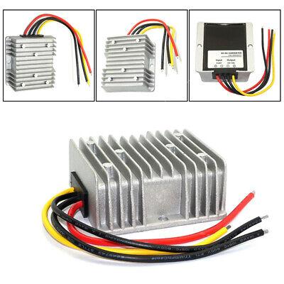 1x Waterproof Dc Voltage Stabilizer 8-40v To 12v 10a Car Power Supply Regulator