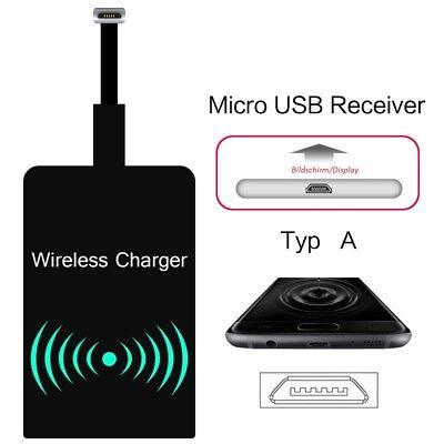 Samsung Wireless Receiver (Drahtlos Qi Wireless Receiver Empfänger für Samsung Galaxy HTC LG Induktiv A)