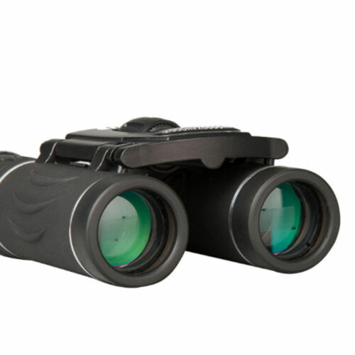 40 x 22 Waterproof Day And Night Vision ZOOM Mini Compact Foldable Binoculars AC