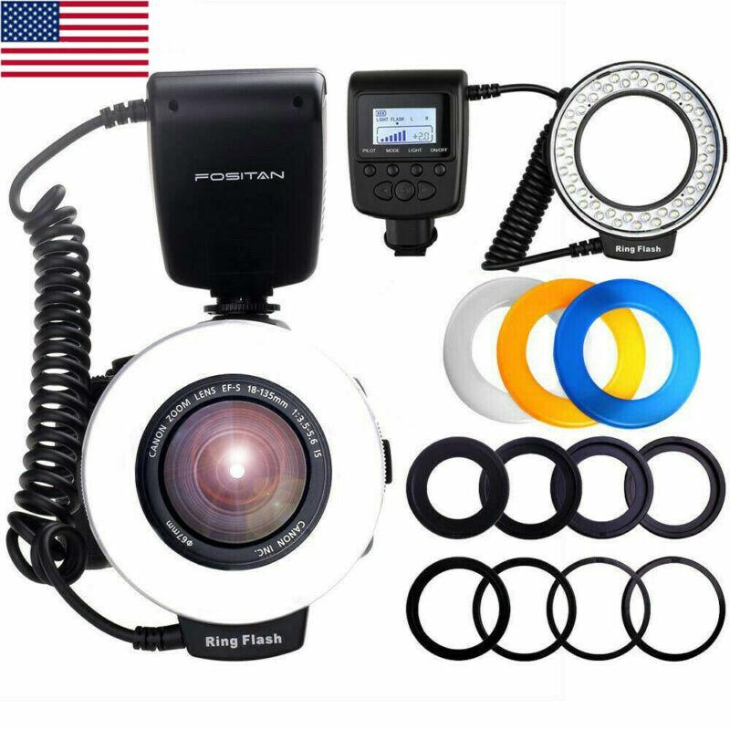 RF-550D Camera Ring Flash Light Macro For DSLR Nikon Canon Olympus Pentax
