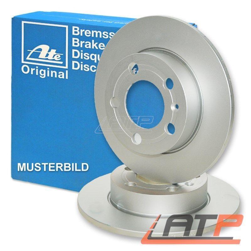 New Mercedes C-Class 202 Front Brake Disks (2 X = one pair) ATE original manufacturer RRP £69 each!