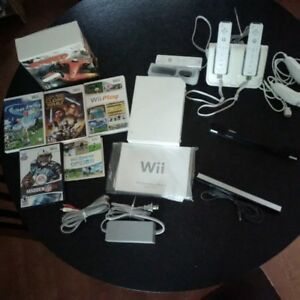 Wii (great setup w games)