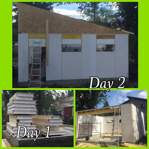SIP or Structural Insulated Panel Wall system Strathcona County Edmonton Area image 1