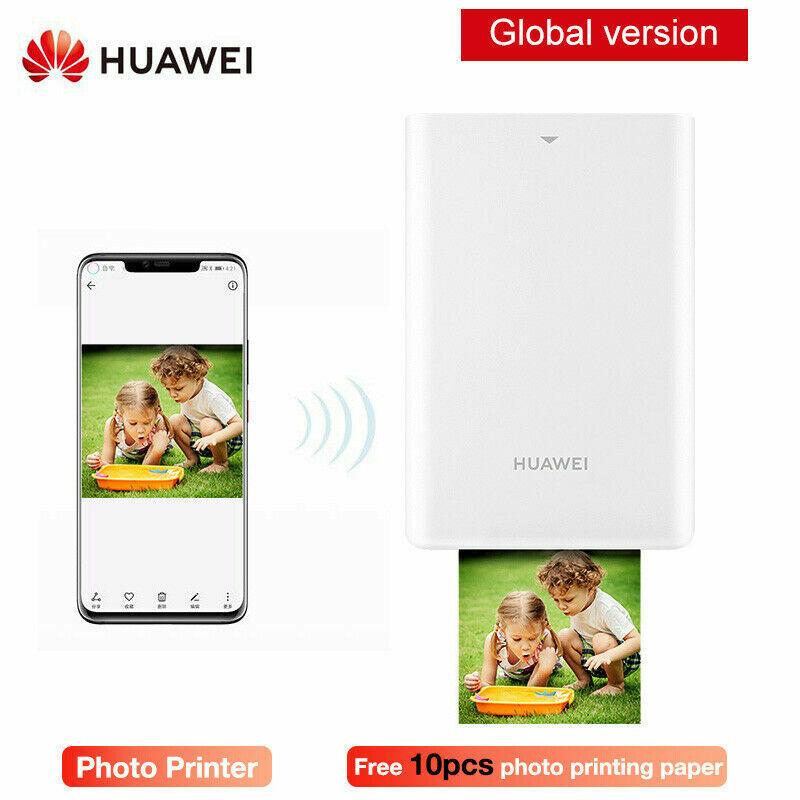 2019 Huawei Mini Bluetooth Instant Portable Photo Printer Po
