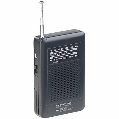 Mini Radio: Analoges Taschenradio TAR-202 mit UKW- und MW-Empfang (Mini Radio)