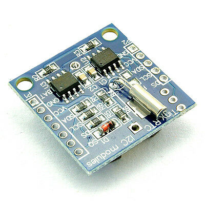 1pcs I2c Rtc Ds1307 At24c32 Real Time Clock Module For Avr Arm Pic