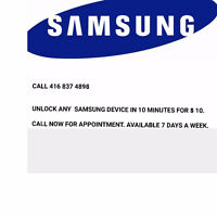 Unlock Samsung S2 S3 S4 S5 S6 NOTE 2 NOTE 3 NOTE 4 FOR 9.99