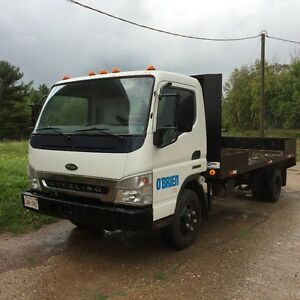 2007 Sterling 360 Flat Bed Truck