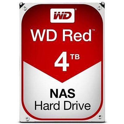 Western Digital Red 4TB 3.5 Inch Internal Drive 6 Gb/s SATA3 64 MB Cache