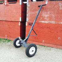 "Light Trailer Dolly (for 1-7/8"" Trailer Balls) w/Pneumatic Tires"
