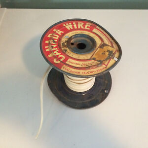 Partial reel of lamp cord - 18 AWG