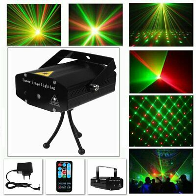 Licht Bar (Mini Projector LED Laser Party Licht Projector DJ Disco Bar Stage Show Lighting)