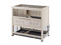 Ferplast Wooden Cottage Rabbit/Guinea-Pig Indoor Hutch