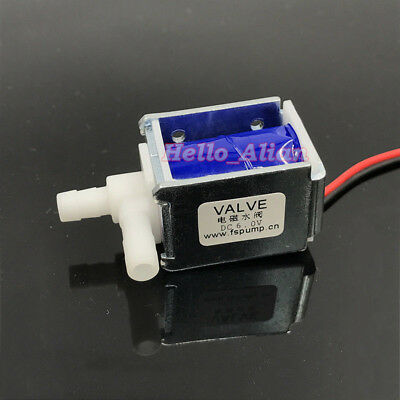 Dc 6v Mini Electric Solenoid Valve Nc Normally Closed Water Gas Air Valve Pump