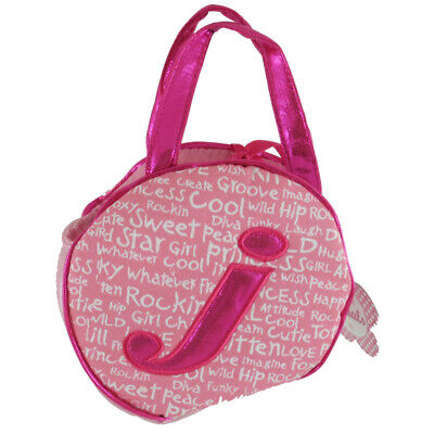 Aurora World Plush - Initials Pet Carriers - Letter J - Toy Purse -