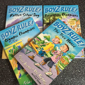 Boyz Rule! Series -4 books in brand new condition