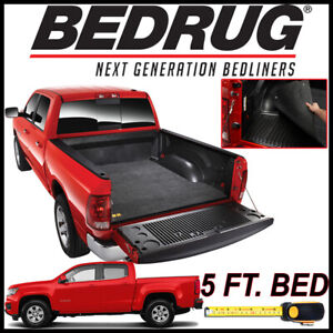 Be Clic Bed Mat Liner For 2017 2019 Chevy Colorado With 5 Ft