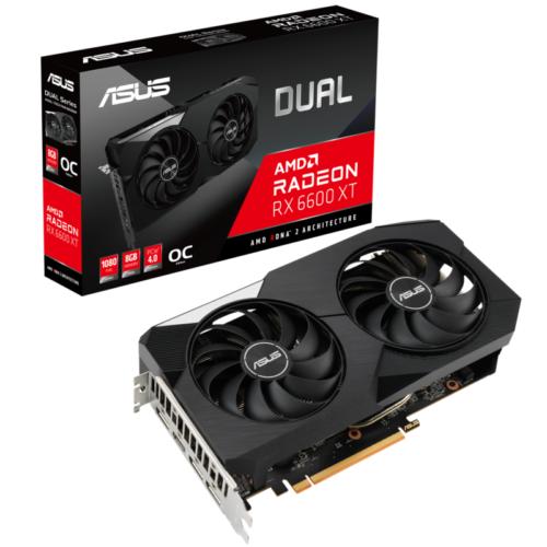 ASUS AMD Radeon RX 6600 XT OC Dual Grafikkarte 8GB GDDR6 3xDP/HDMI