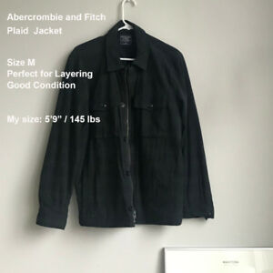 Abercrombie and FitchPlaid  Jacket