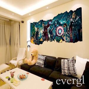 Comavengers Kids Room : ... The-Avengers-Removable-Vinyl-Wall-Sticker-Decals-Kids-Nursery-Room-P6