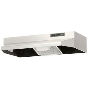 Broan Range Hood Almond - USED 30 inch