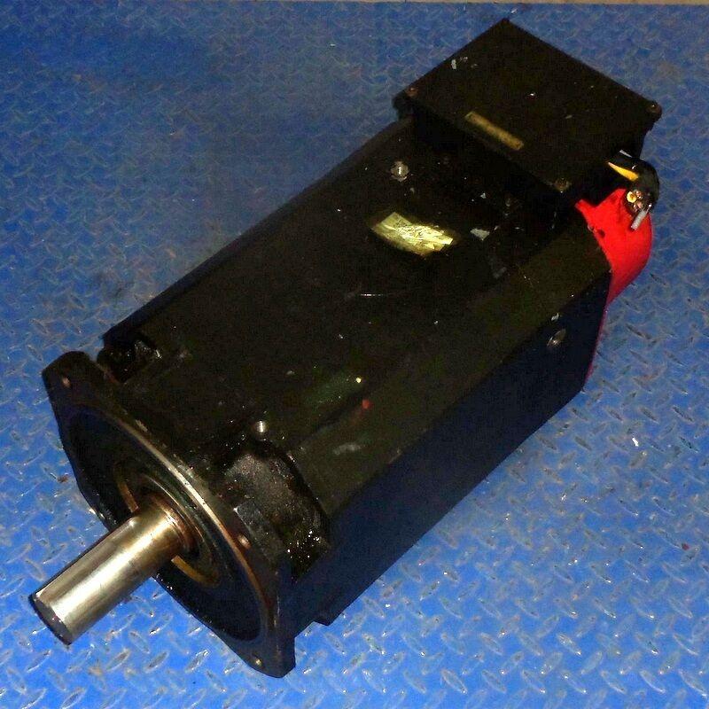 GE FANUC 40P/6000 AC SPINDLE MOTOR A06B-0731-B104#3000, LABEL
