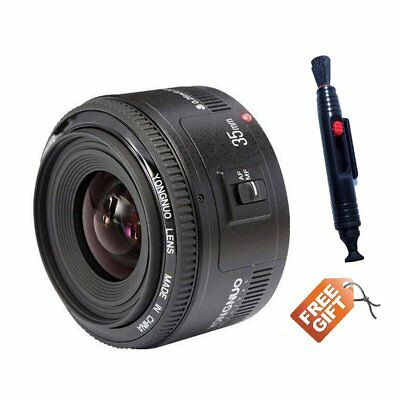 Yongnuo YN35mm EF 35mm F/2 Wide-angle Auto Converge Lens for Canon Rebel Camera EOS