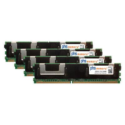 16GB (4x4GB) Kit RAM DDR2 passend für Fujitsu Primergy RX300 S3 FB...