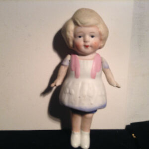 Vintage Bisque Doll Jointed Arms