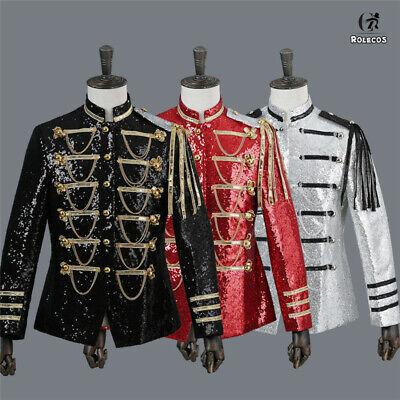 Renaissance Medieval Men Paillettenjacke Royal Court King Prince Cosplay - Royal Renaissance Kostüm