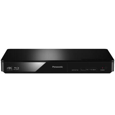 Panasonic DMP-BDT184EG Blu-ray Player schwarz 3D ready 4K Upscaling HDMI
