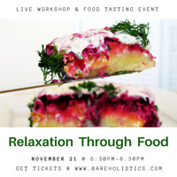 Relaxation through Food