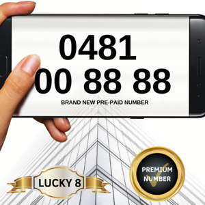 Platinum Mobile Number *Lucky 8* ******8888 | Miscellaneous Goods