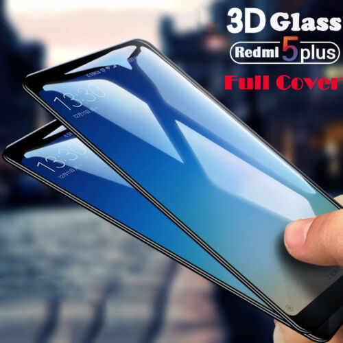 For Xiaomi Redmi 5 Plus 5A  3D Full Cover Tempered Glass Film Screen Protector