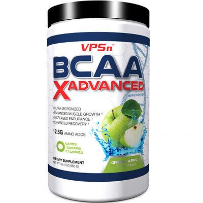 Best BCAA Amino Acid XAdvanced Muscle Endurance Recovery Green Apple 30